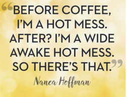wide awake hot mess