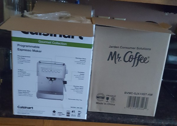 2 coffee makers