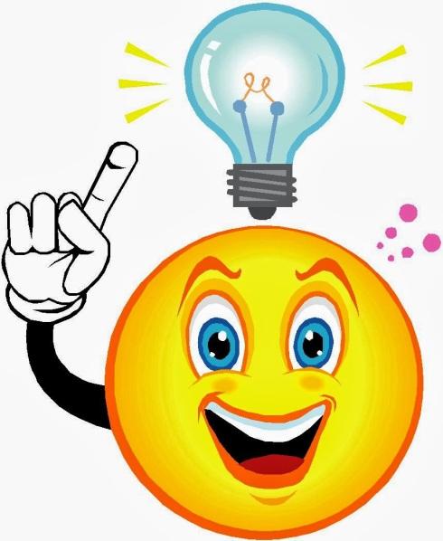 light bulb over your head