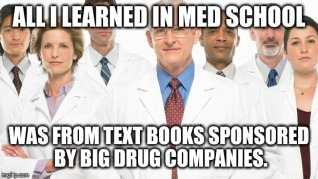med school sponsered by drug companies