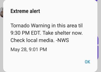 extreme alert